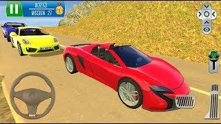 Direksiyonlu (Kırmızı) Araba Park Etme Oyunu | Parking Island: Mountain Road - Android GamePlay #3
