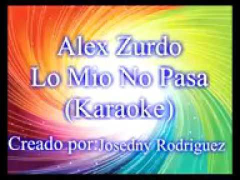 Lo mio no pasa karaoke
