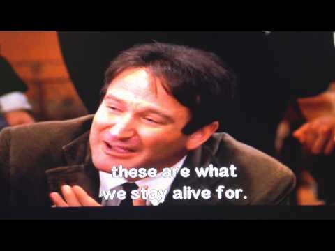Dead Poets Society - Mr. Keating's Walt Whitman Speech