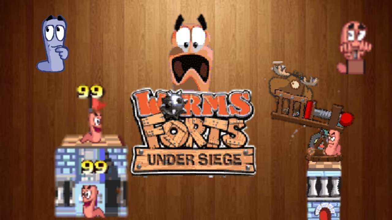 worms forts 3d para sony ericsson w580