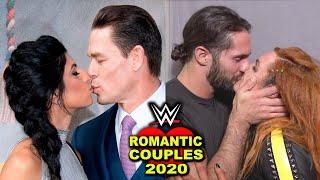 10 Most Romantic WWE Couples 2020 - John Cena & Girlfriend, Seth Rollins & Becky Lynch