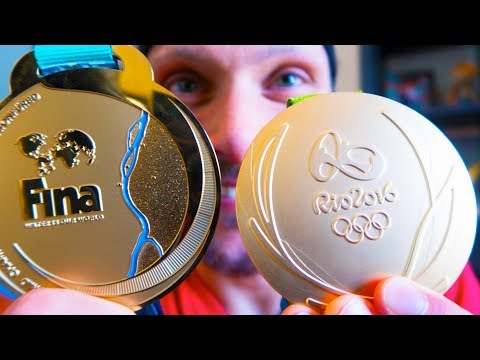 Olympic Gold Medal VS World Championship Medal