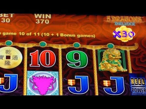 5 dragons slot machine youtube winners at winstar