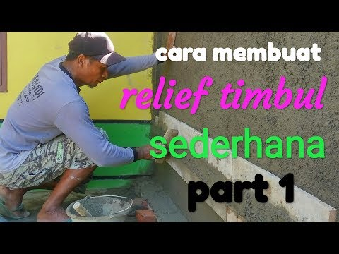 cara-membuat-relief-timbul-sederhana- -how-to-make-simple-relief-from-sand-and-cement