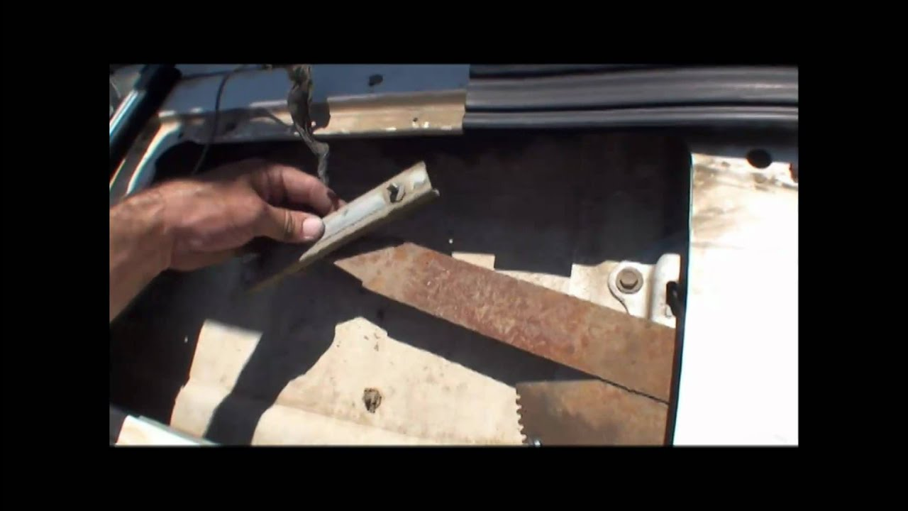 Bronco Rear Window Repair Youtube