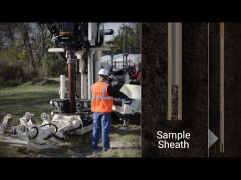 Geoprobe® Sonic Weighted Wireline Sampling System