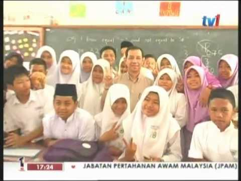 Teach For Malaysia Week on Berita Wilayah, RTM1, 30.4.2012