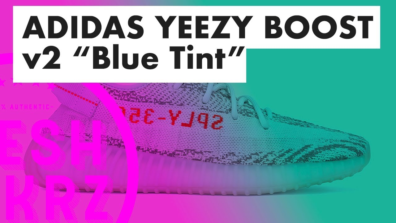 WHERE TO COP: THE NEW YEEZY ADIDAS Boost 350 v2 Blue Tint