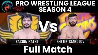 PWL 4 Day 14: Khetik Tsabolov vs Sachin Rathi | Mumbai Maharathi vs Delhi Sultans | Full Match
