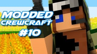 "Minecraft - Modded CrewCraft! - ""Base Complete!"" Episode 10"