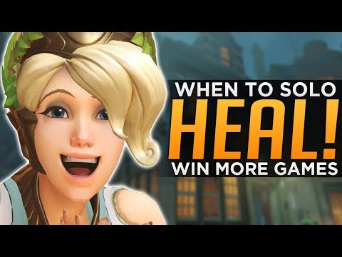 Overwatch: How to WIN With Solo Heal! - Make BAD Comps GOOD!