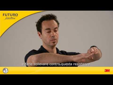 FUTURO™: Terapia di dolori e lesioni del gomito