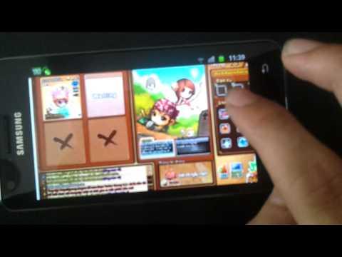 Chơi Gunny trên Samsung Galaxy S2 - Độc ! (Full HD 1080p)