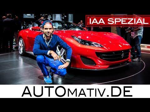 Ferrari Portofino im Review, erste Sitzprobe - Nachfolger des California T | IAA 2017