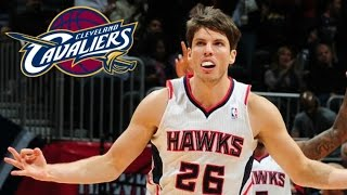 kyle korver traded to the cleveland cavaliers to join lebron james kyrie irving kevin love