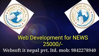 Web development for news from wrbsoft it nepal