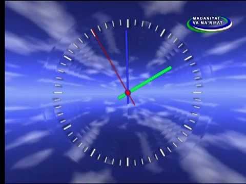Начало эфира после профилактики канала Madaniyat va ma'rifat (Узбекистан). 27.07.2015