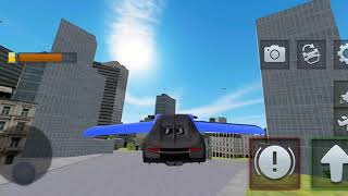 Ultimate Flying Car Simulator Android Gameplay