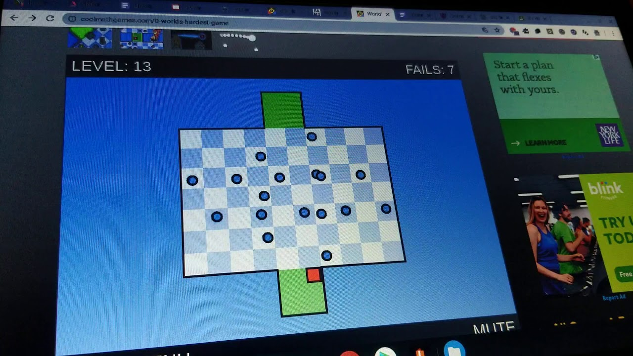 How to Beat The World's Hardest Game « Puzzles :: …