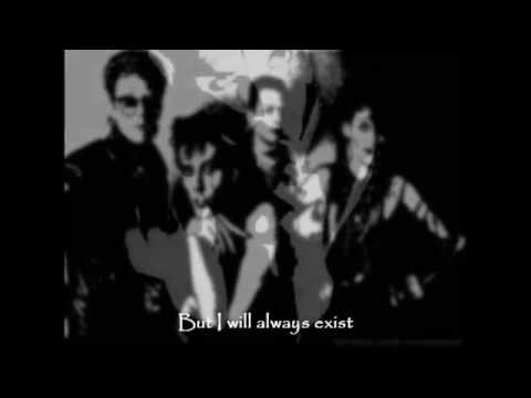 BAUHAUS  - The Three Shadows Pt II (lyrics on screen, 1982)