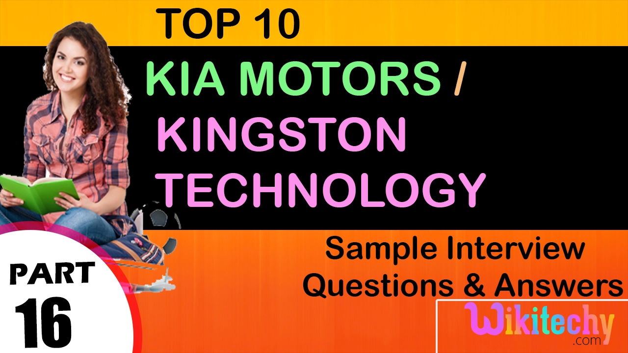 Jobs Kia Motors Kingston Technology Kia Motors In