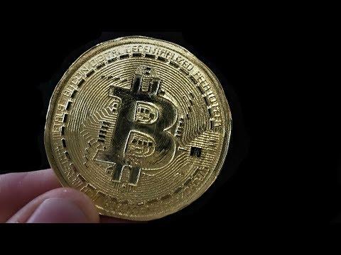 How to make a brass bitcoin
