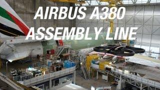Paris Air Show 2013: Parrot AR.Drone 2.0 flies over Airbus A380 Final Assembly Line!