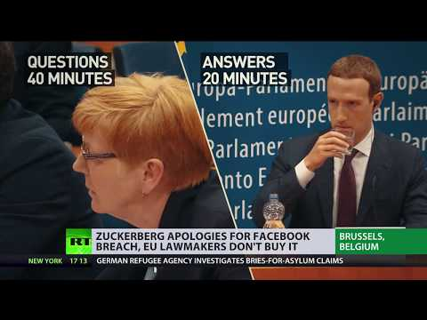 'Not a single answer': European MPs question Zuckerberg about Facebook's protection standards