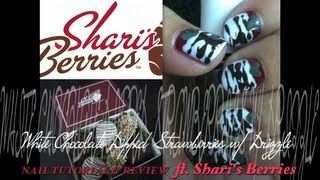 White Chocolate Dipped Strawberries NAIL TUTORIAL & REVIEW Thumbnail