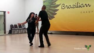 Paul Warden & Coleen Man - West Coast Swing demo - SHOW BR OPEN 2019