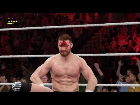 Eric Edwards Beats Sami Zayn