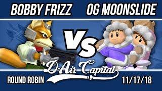 D-Air Capital 11 - Bobby Frizz (Fox) Vs. OG Moonslide (Ice Climbers) - RR Pools