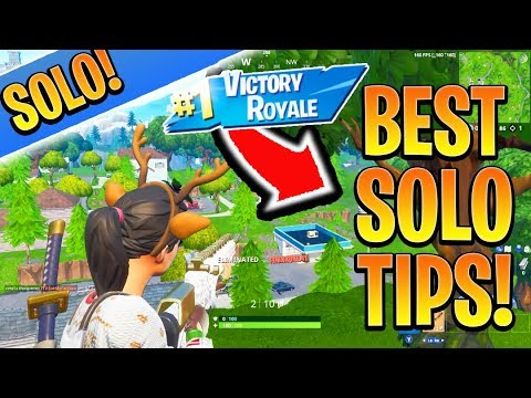 How to Win SOLOS with EASE! Fortnite Ps4/Xbox BEST Tips and Tricks! (How to Win Solo Fortnite Tips)