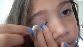 Makeup Tutorial Five Year Old Princess Rapunzel Thumbnail