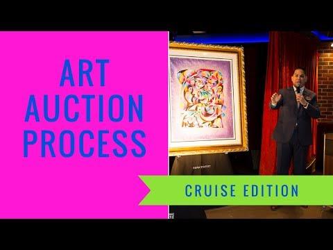 Cruising Art Auction Process