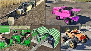 PRASA CZYNI CUDA ! RÓŻOWY TX, MYJNIA ORAZ MONSTER ?!..Najdziwniejsze mody Farminga Simulator 2019