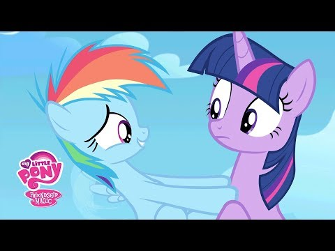 MLP Friendship Is Magic Season 5 - 'Twilight Sparkle & Young Rainbow Dash' Official Clip