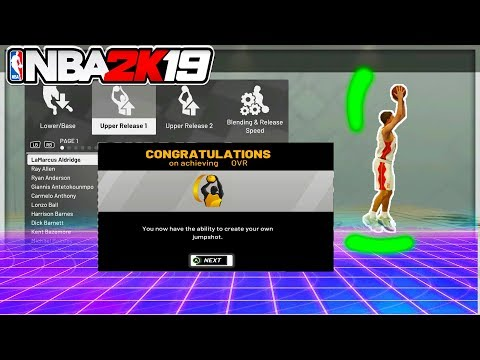 UNLOCKED JUMPSHOT CREATOR! FIRST 80 + OVERALL? NEW SPEED BOOSTING ANIMATIONS REVEALED. NBA 2K19