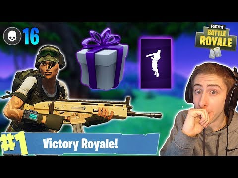 NEW Twitch Prime Trailblazer Outfit! 16 Kill Solo Live Gameplay (Fortnite Battle Royale)