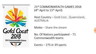 Commonwealth 2018 medal tally INDIA   CWG 2018 SUMMARY  