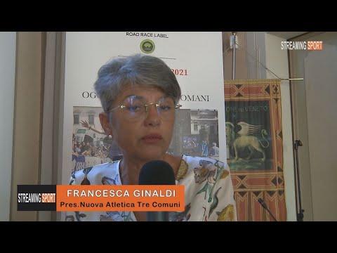 INTERVISTA A FRANCESCA GINALDI - Presidente Nuova Atletica Tre Comuni