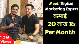 How Ankur Aggarwal makes $30,000 Per Month Online : Inspiring Interview