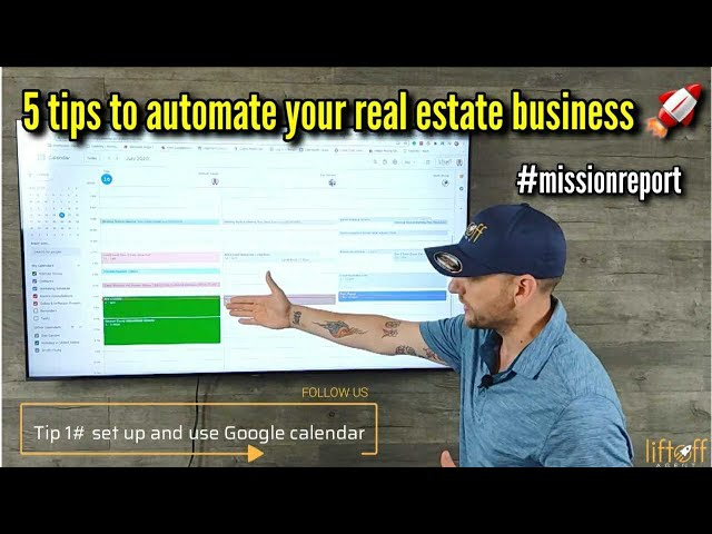 How to automate my real estate business? #missionreport