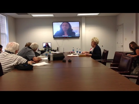 Superintendent search Skype interviews Day: 1 5/8/17.