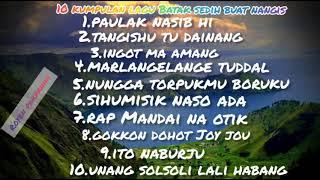 10 kumpulan lagu Batak sedih buat menangis