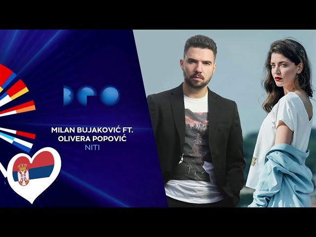 Milan Bujaković feat. Olivera Popović - Niti / Beovizija 2020