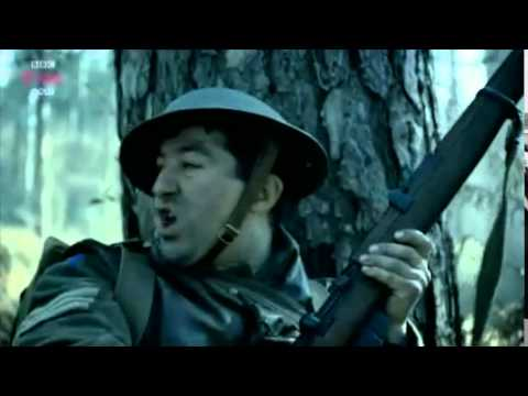 Paul Popplewell in 'Our World War' BBC's RTS winning and BAFTA nominated drama