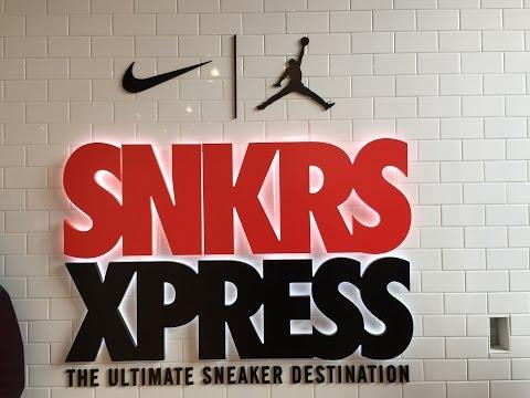 Nike SNKRS Xpress Experience Recap