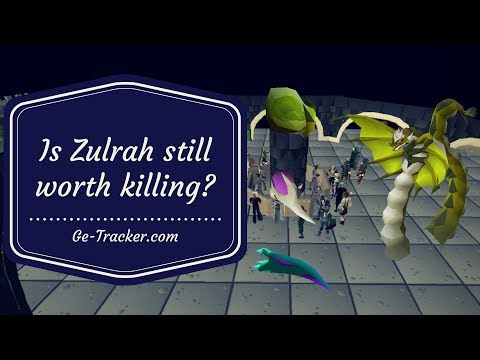 Is zulrah still worth killing? || Loot from 500 Kills || Post Nerf