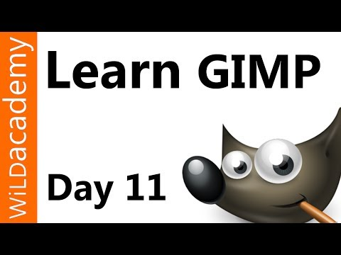 Learn GIMP Tutorial - Day 11 - User Interface and Toolbar Layout